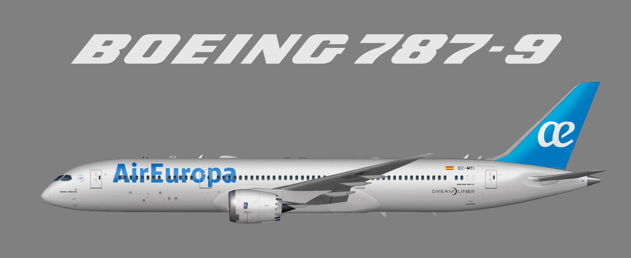 Air Europa Boeing 787-9 (UTT)