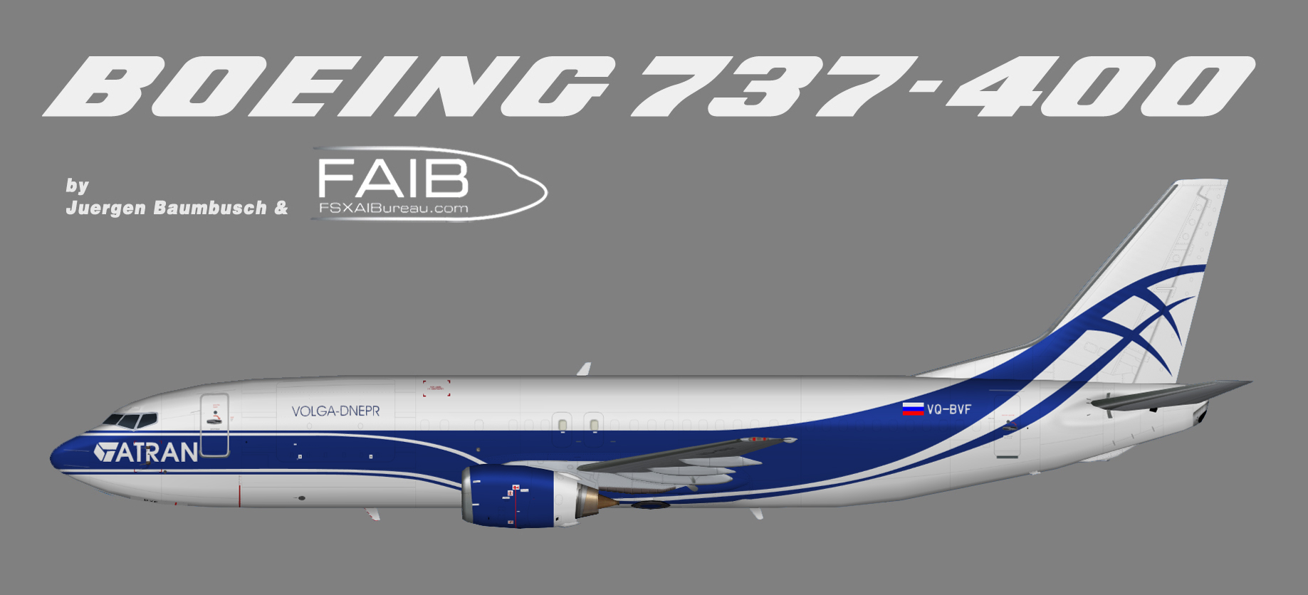 Atran Air Boeing 737-400F