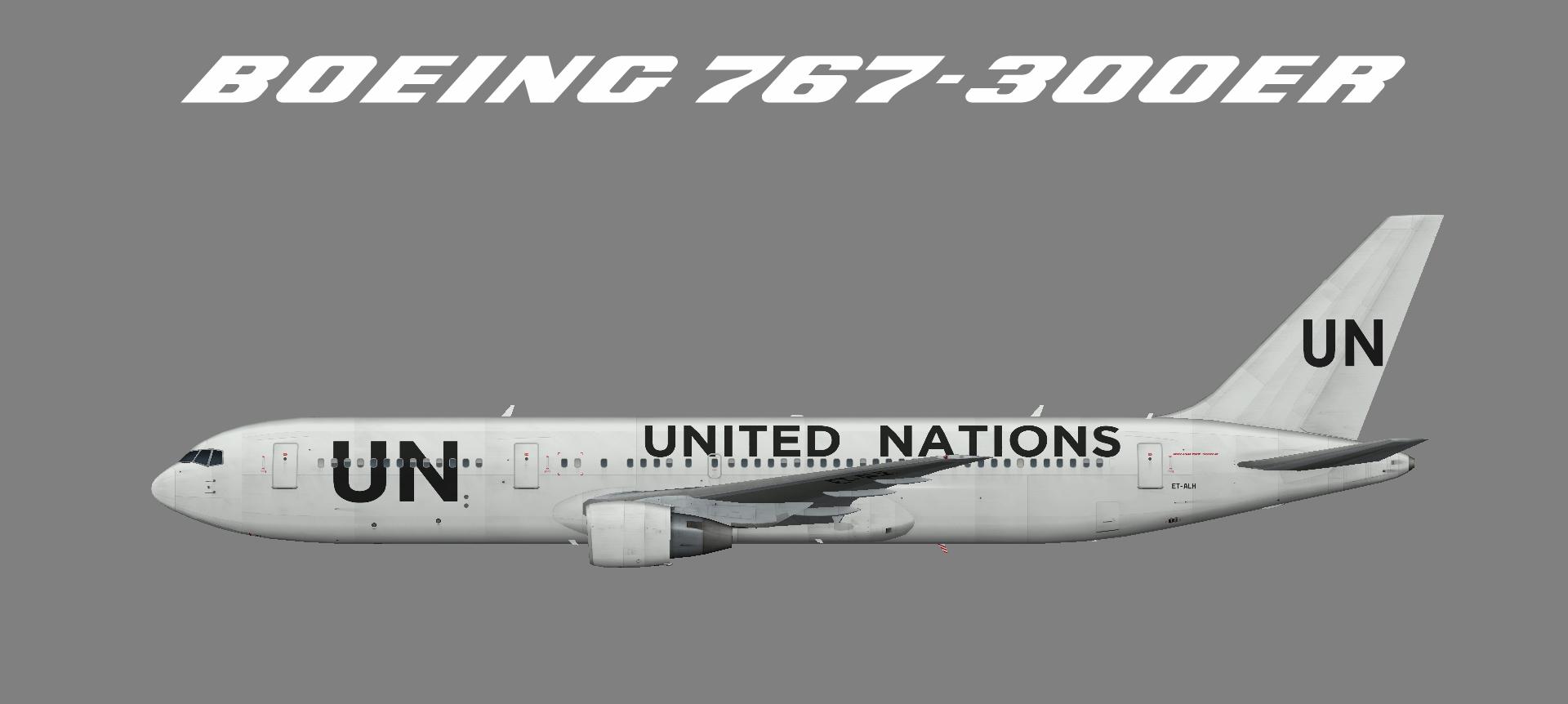 Ethiopian Airlinas Boeing 767-300 (opf UN)
