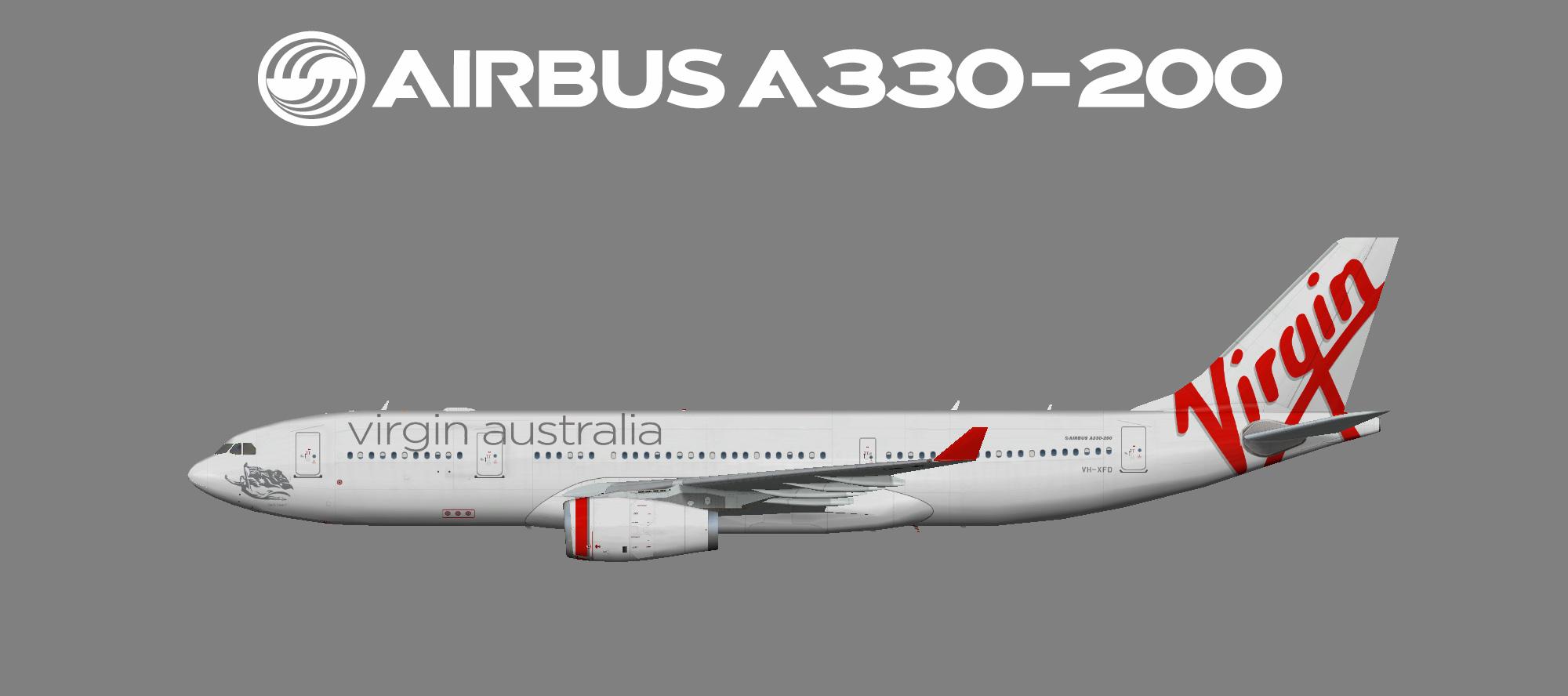 Virgin Australia Airbus A330-200 (FSP)