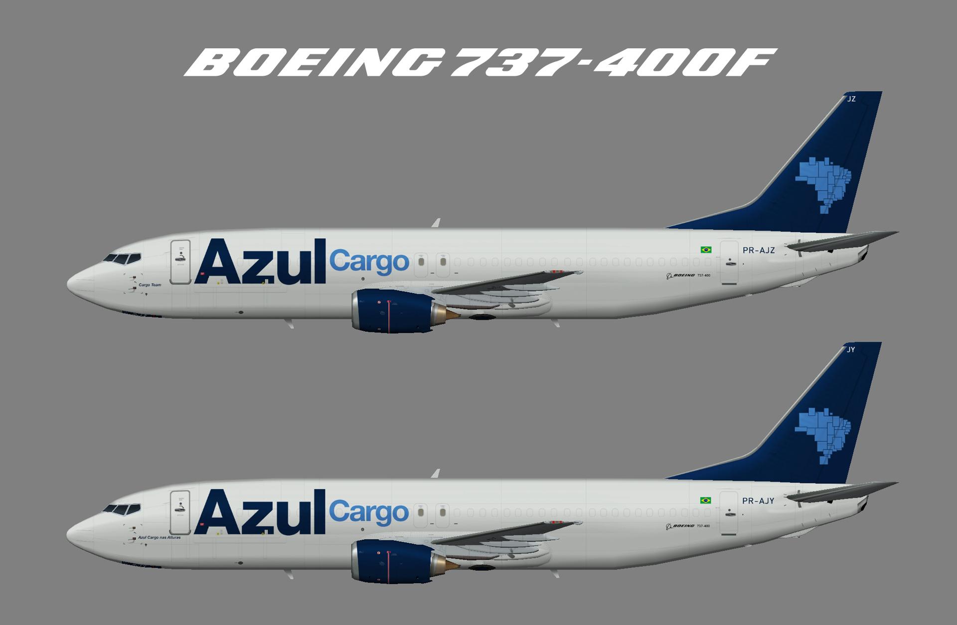 AZUL Cargo Boeing 737-400F