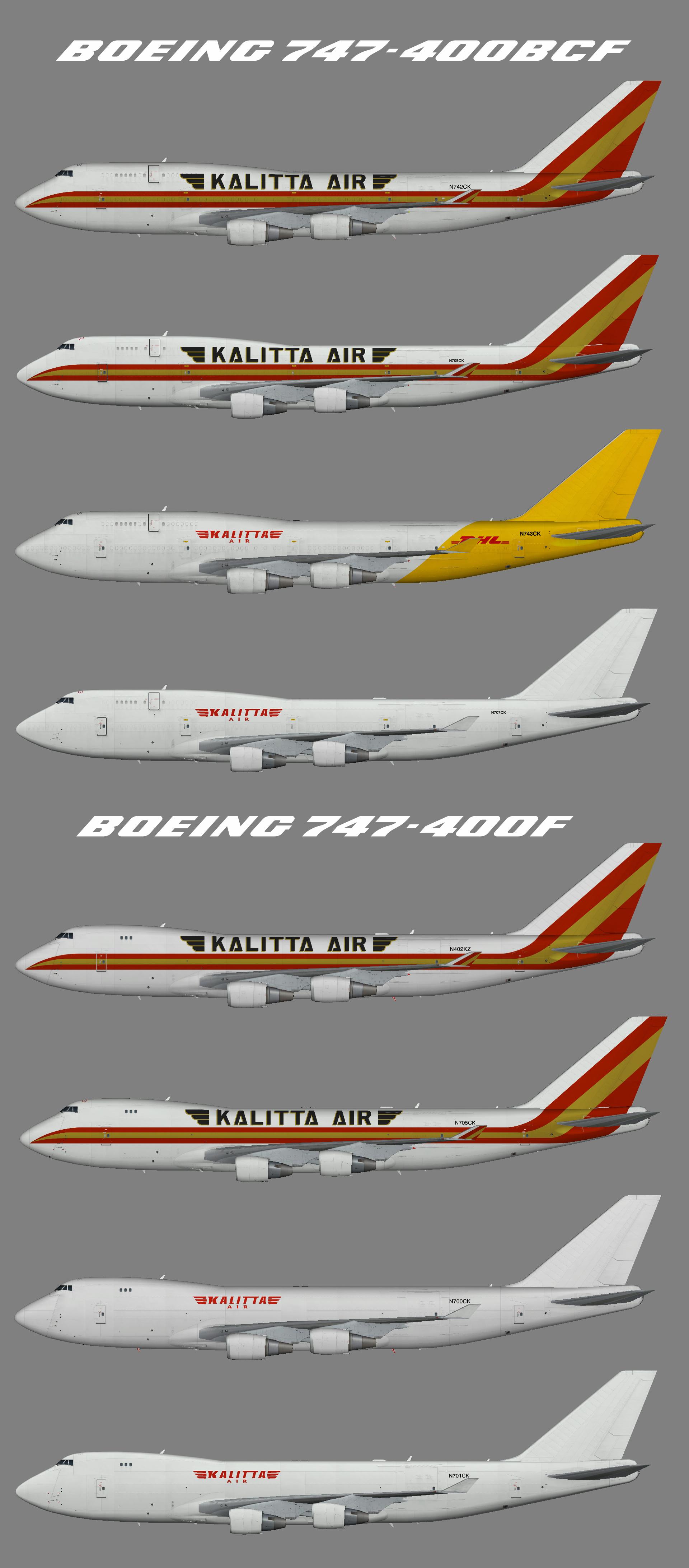 Kalitta Air Boeing 747-400F