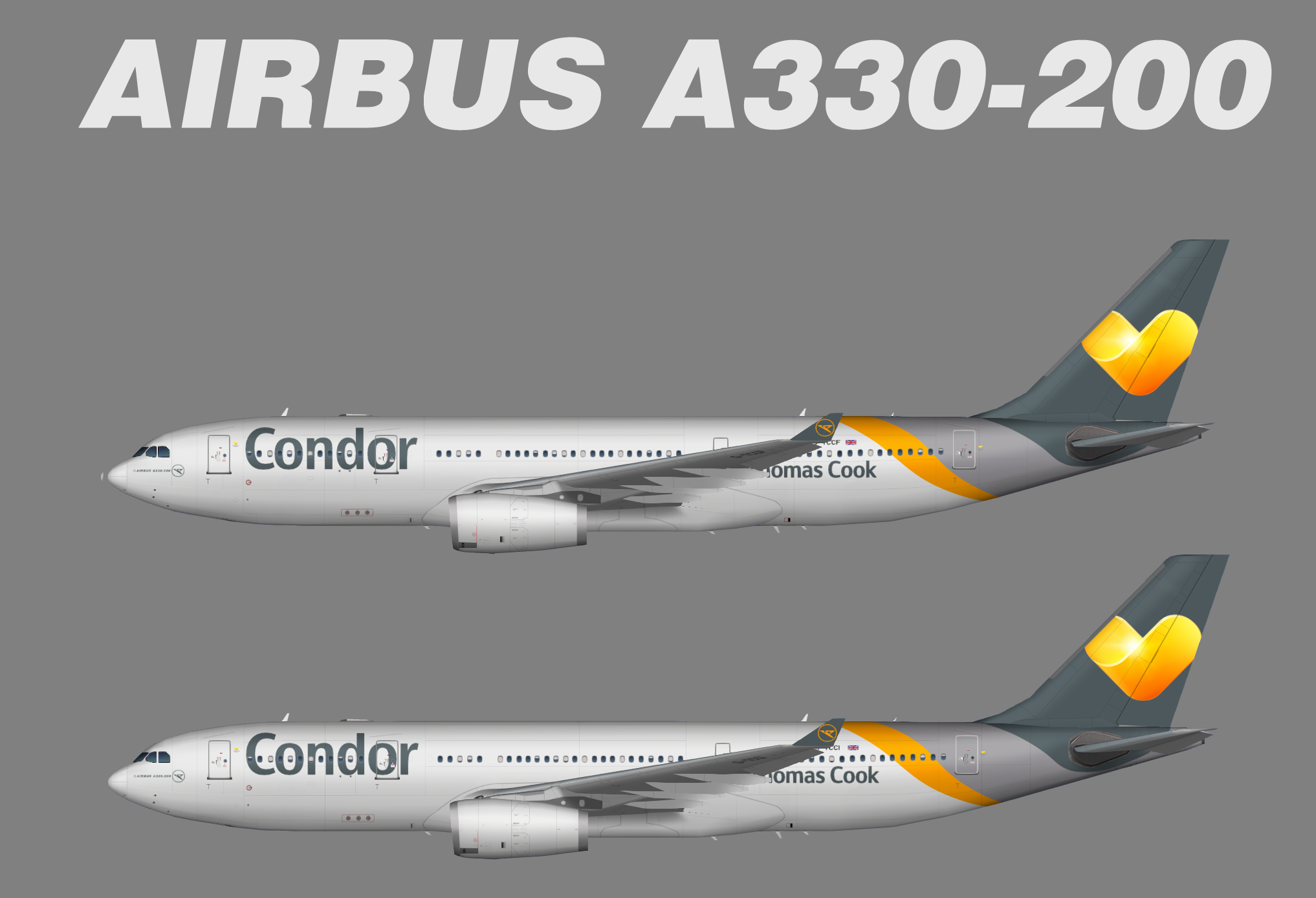 Condor Airbus A330-200 (opb Thomas Cook Airlines) (TFS)