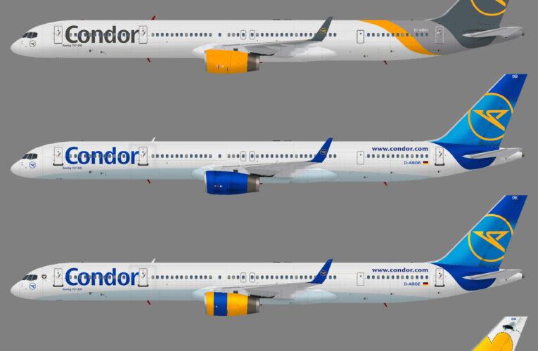 Condor Flugdienst Boeing 757-300w