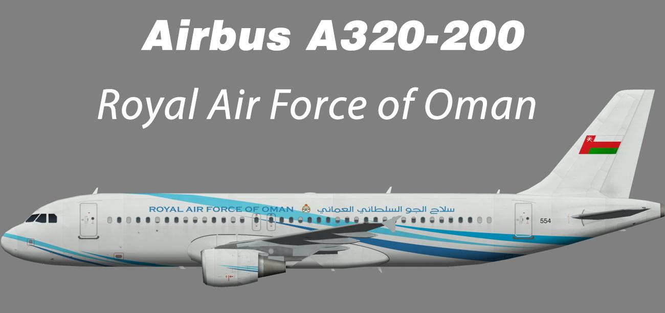 Royal Air Force of Oman Airbus A320-200 – Nils