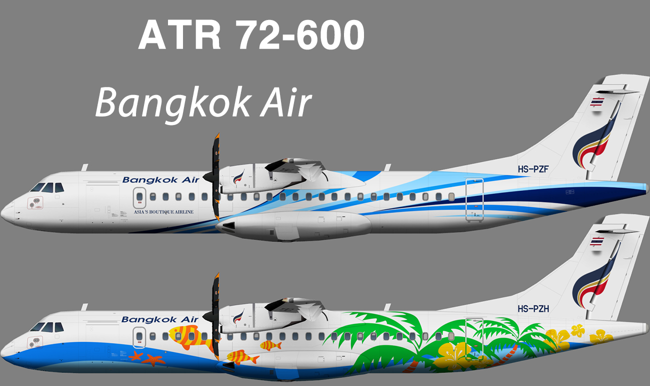 Bangkok Airways ATR 72-600 – Nils
