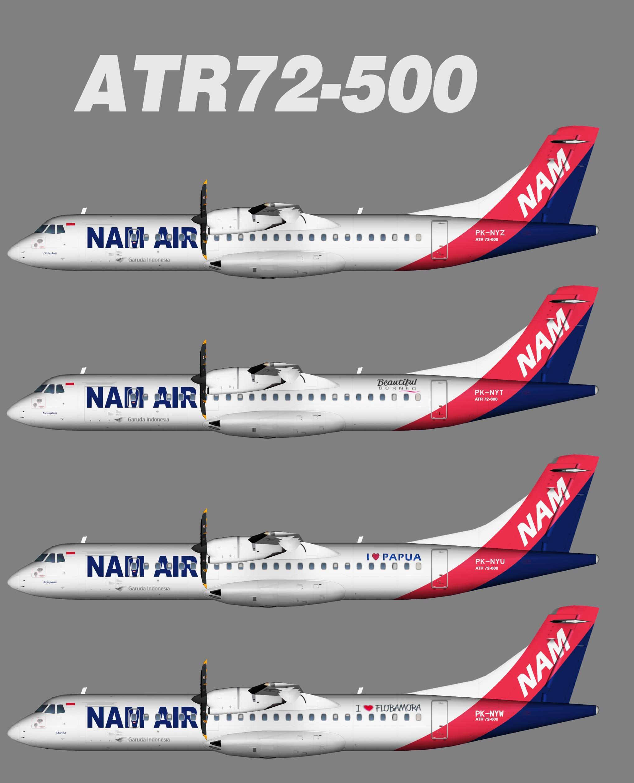 NAM Air ATR 72-600