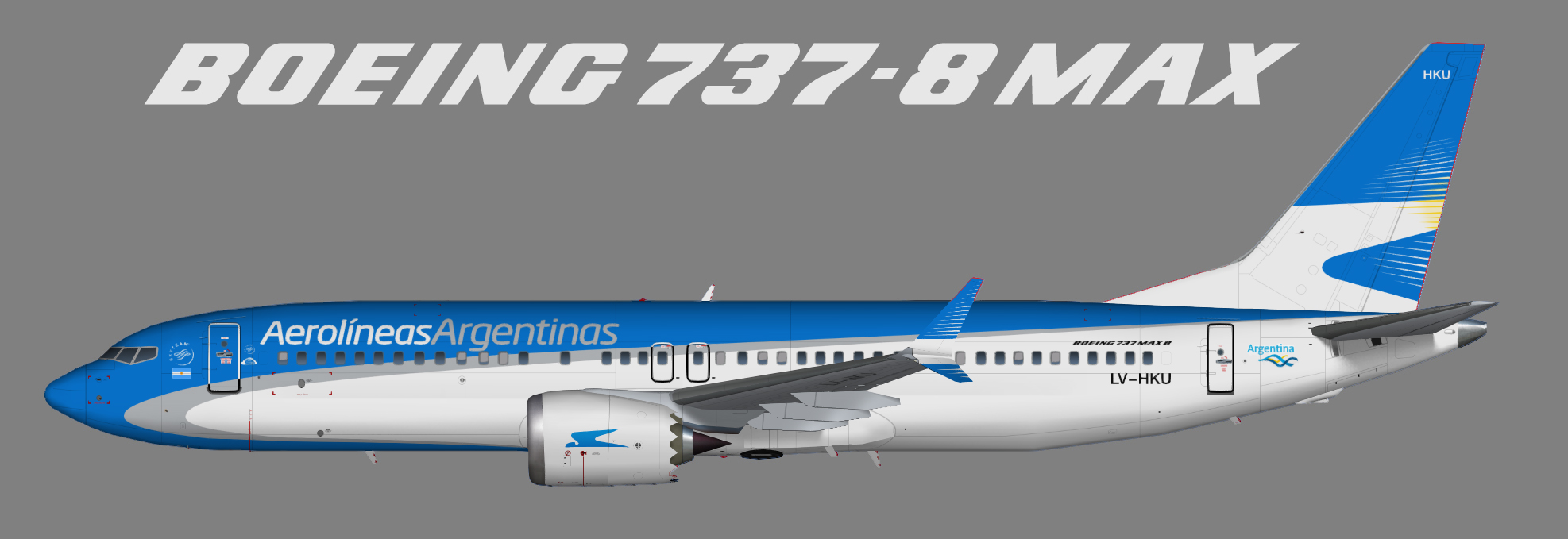Aerolineas Argentinas Boeing 737 MAX 8