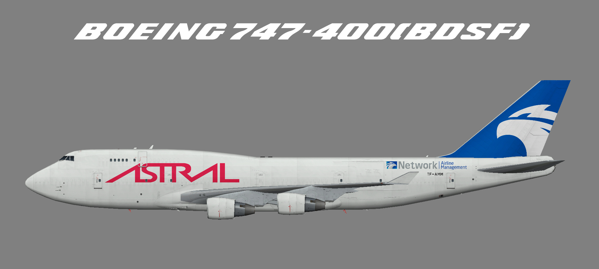 Astral Aviation Boeing 747-400 BDSF