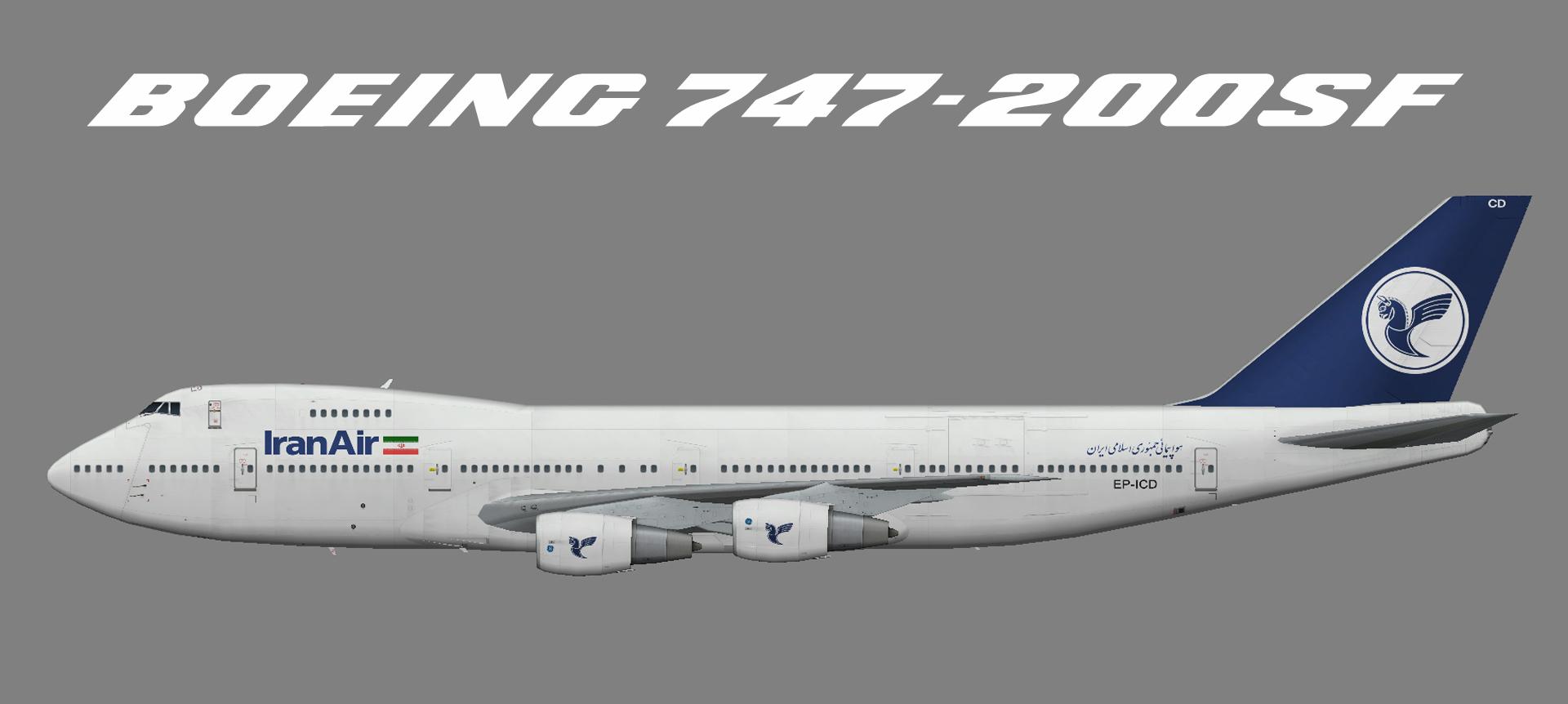 Iran Air Cargo Boeing 747-200F