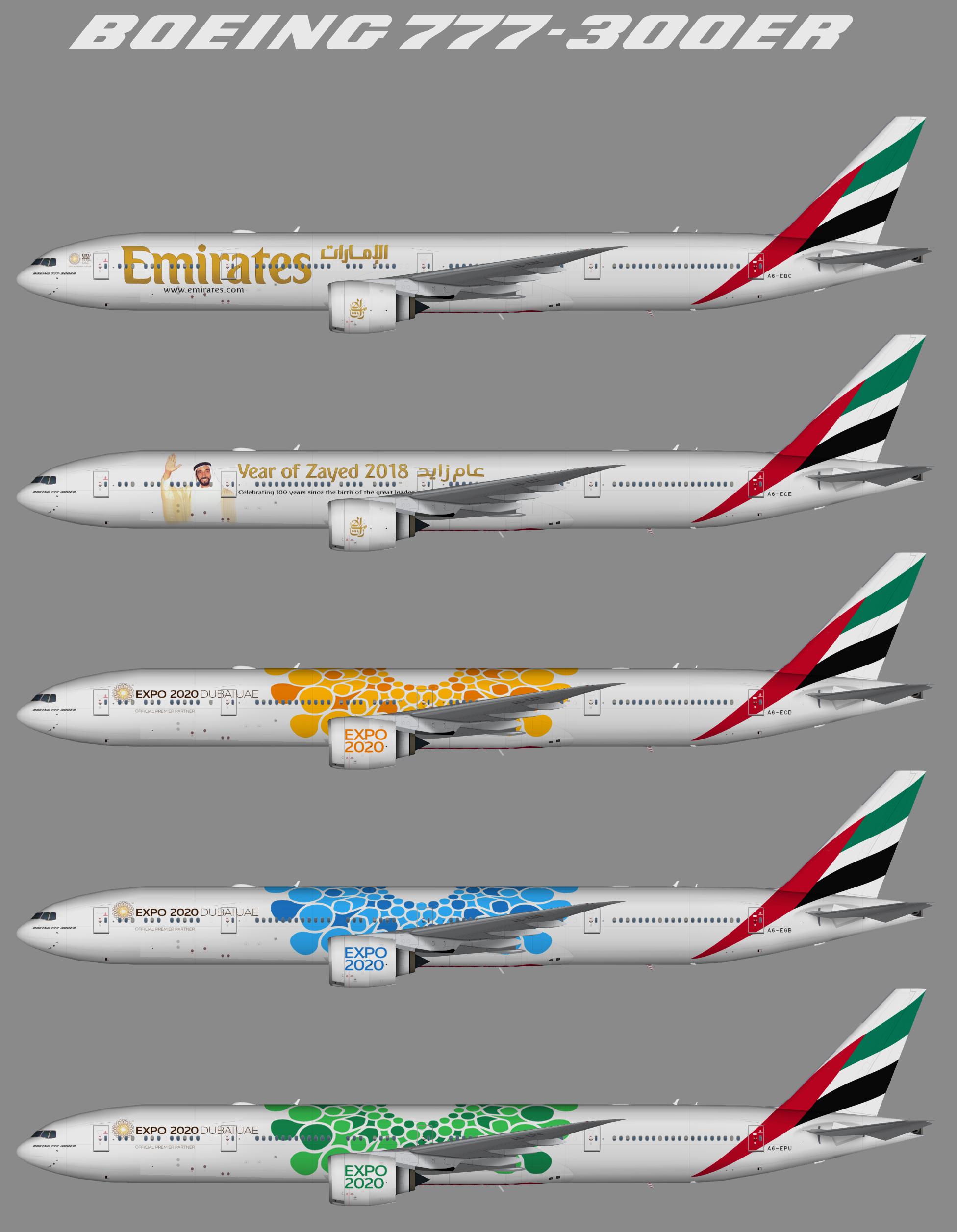 Emirates – Juergen's paint hangar