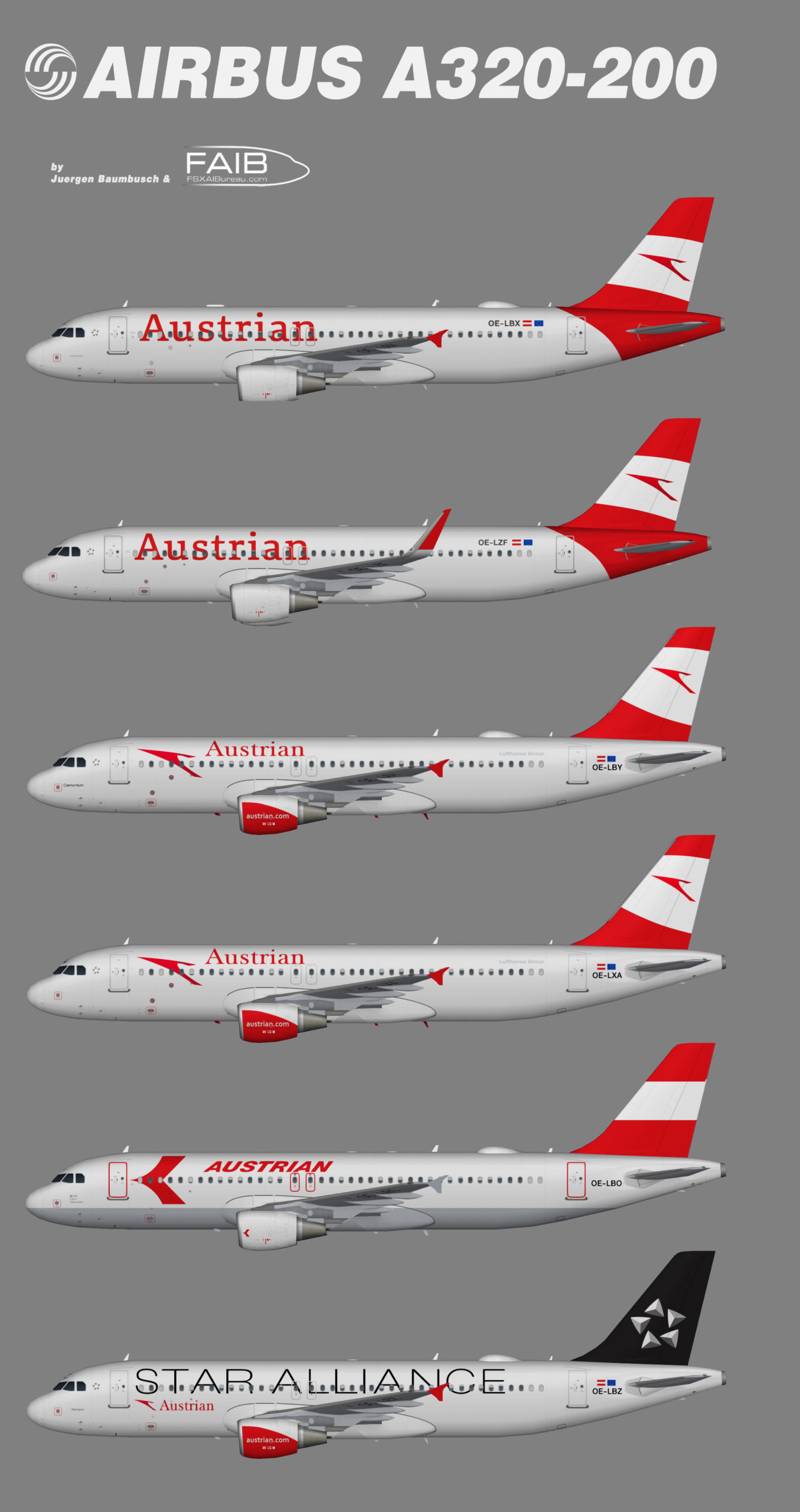 Austrian Airlines Airbus A320-200