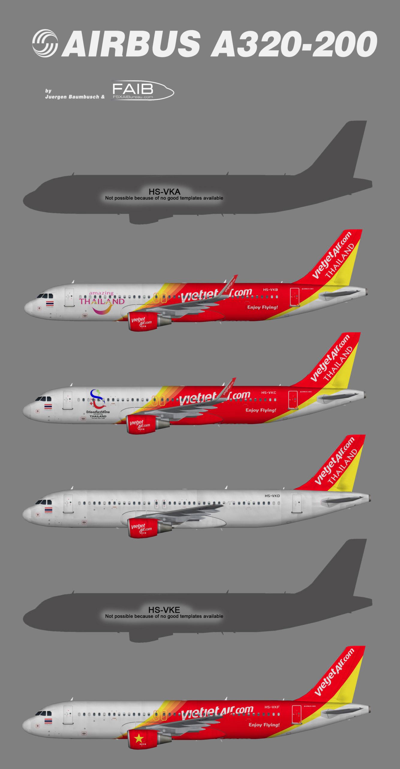 ThaiVietJet Airbus A320-200