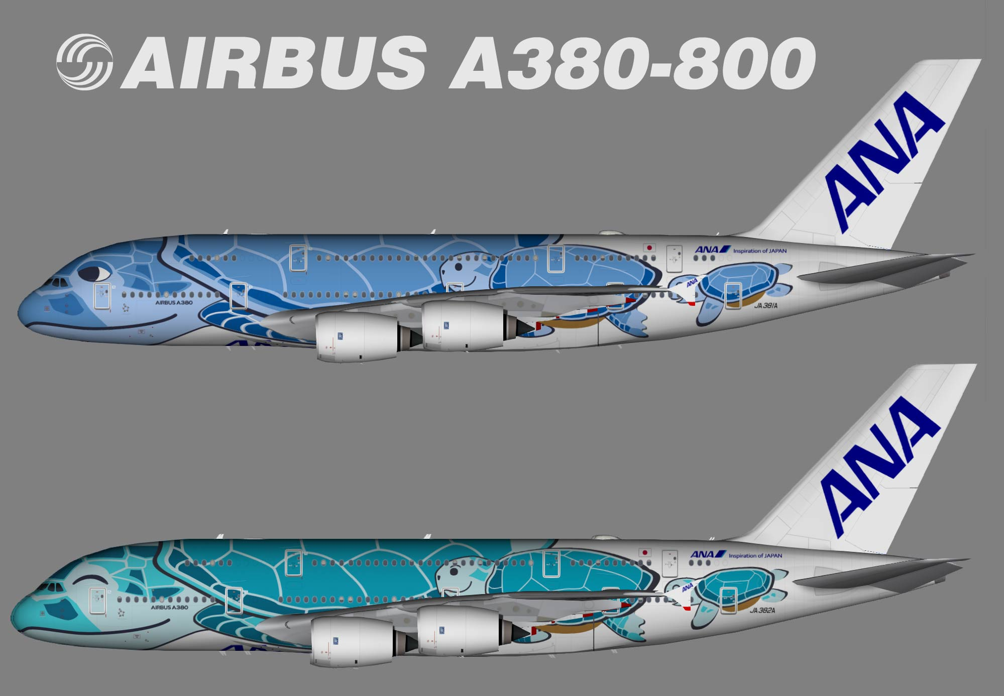 All Nippon Airways (ANA) Airbus A380-800 (TFS)