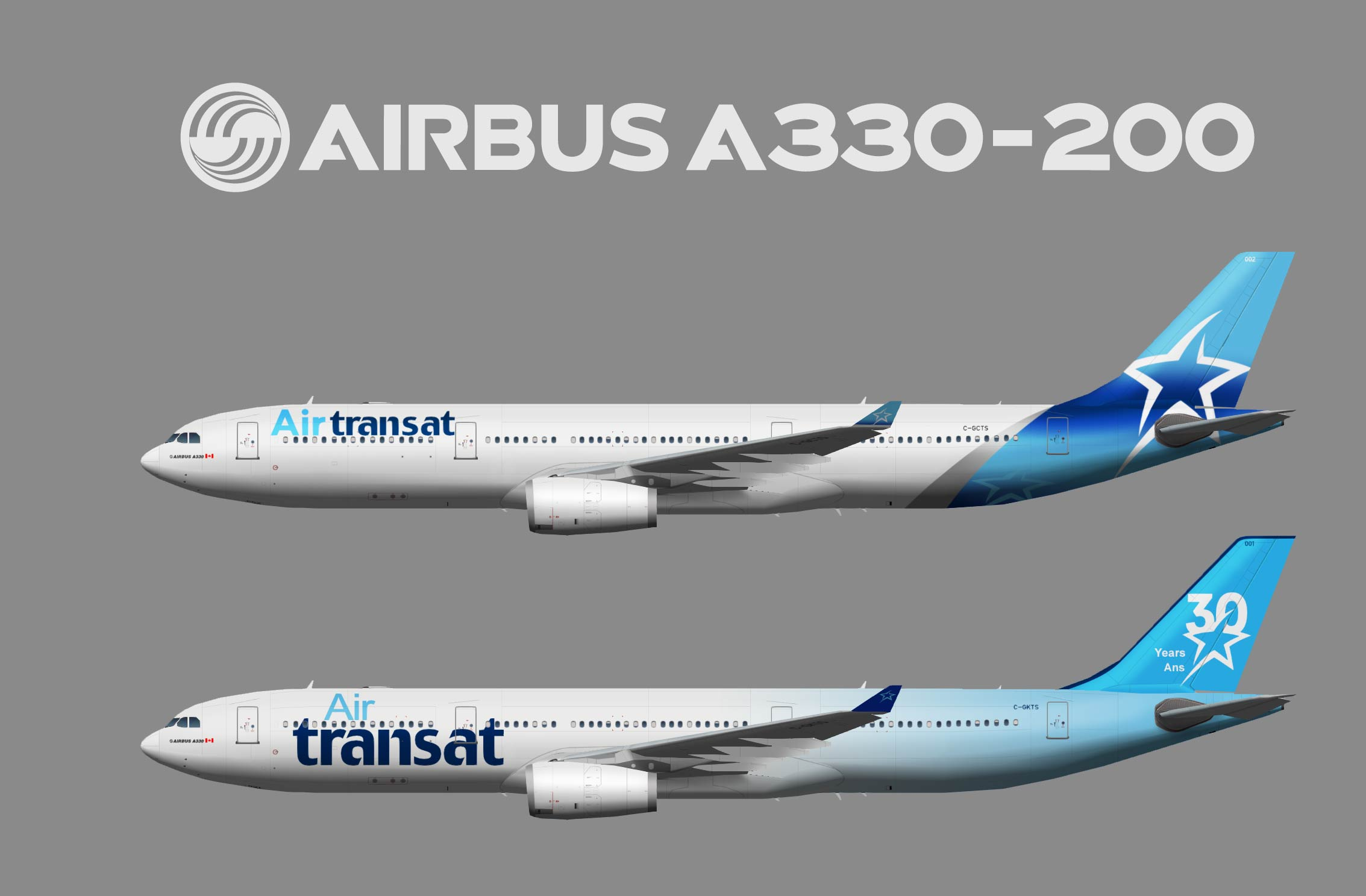 TFS AirTransat Airbus A330-300