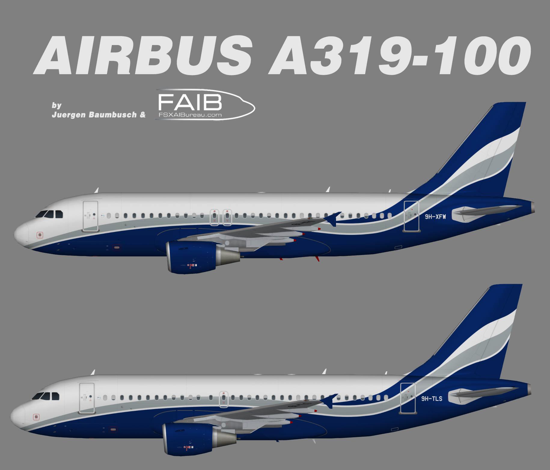 HiFly Malta Airbus A319-100