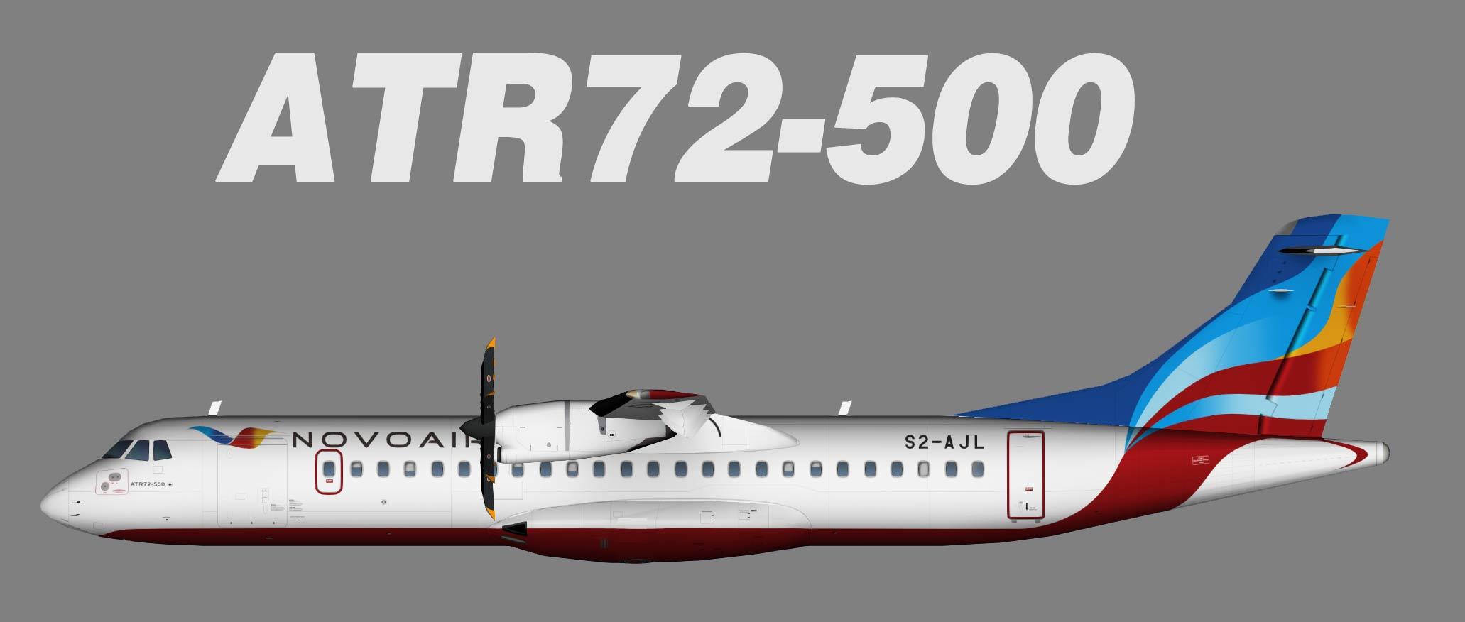 Novoair ATR 72-500