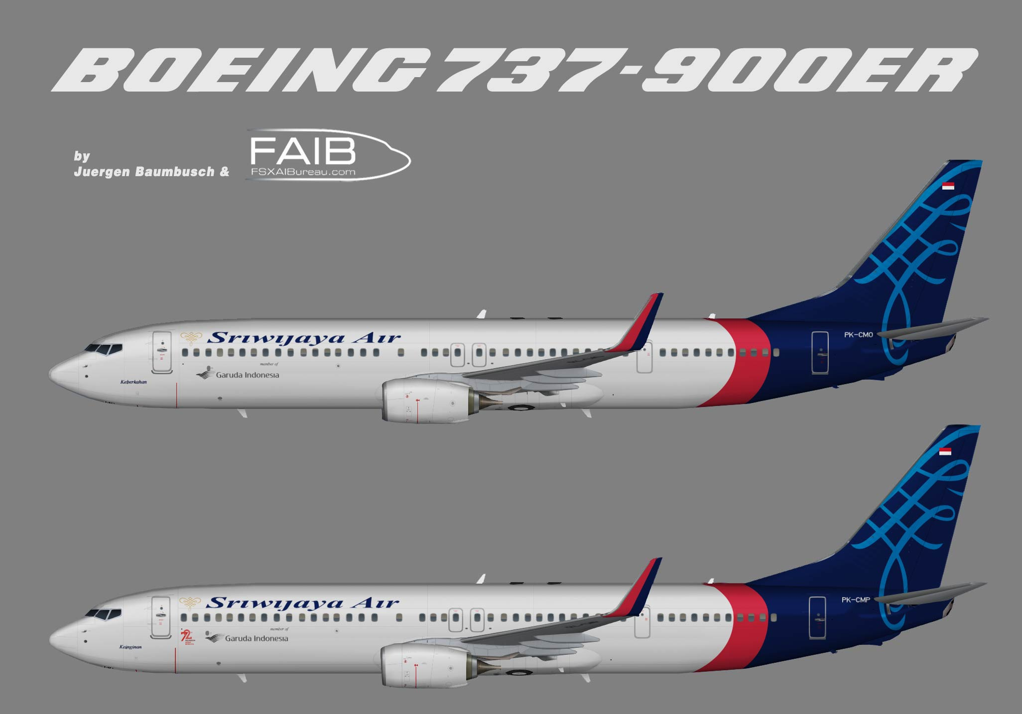 Sriwijaya Air Boeing 737-900ER