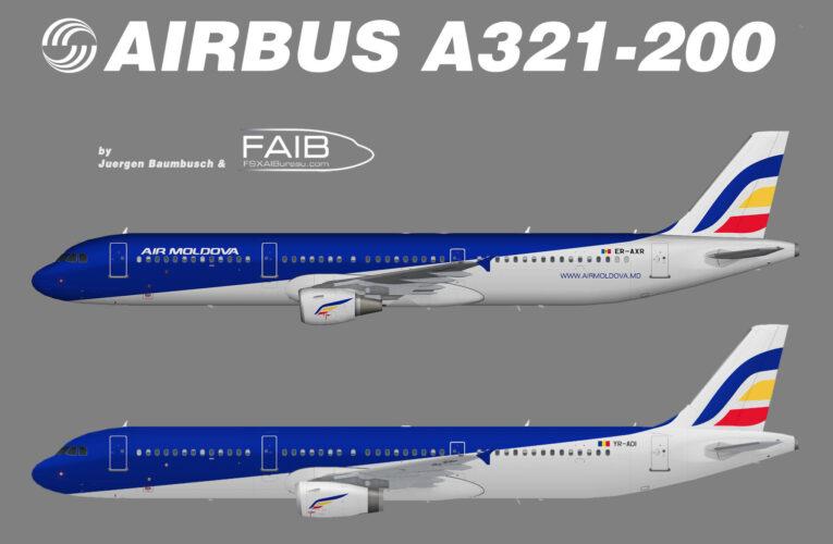 Air Moldova Aibus A321-200