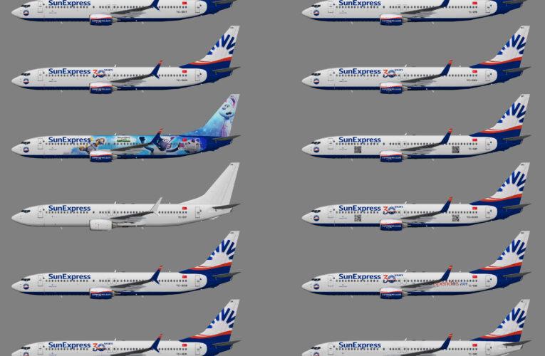 SunExpress Boeing 737-800w