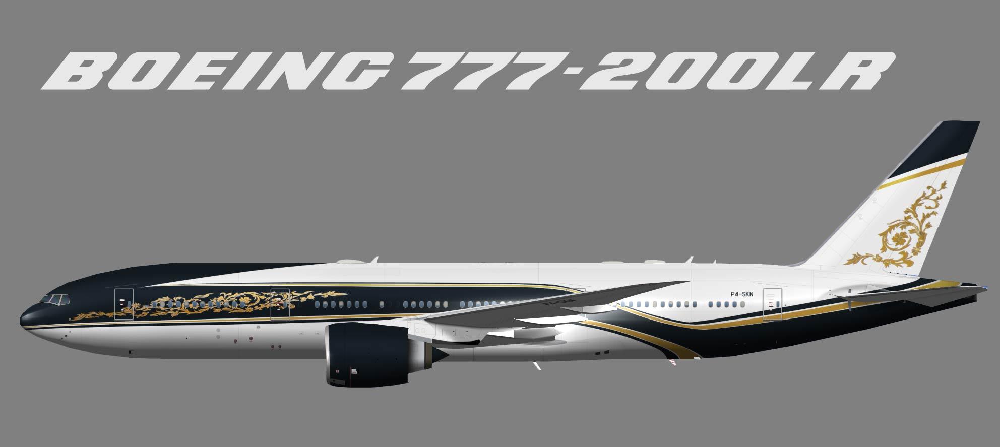 Equatorial Guinea Government Boeing 777-200LR