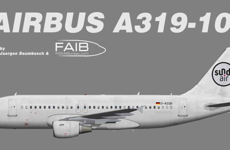 SundAir Airbus A319-100