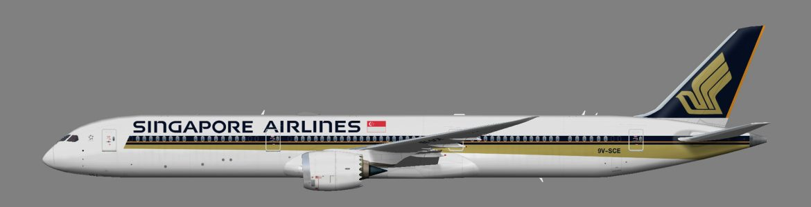 Singapore Airlines 787-10