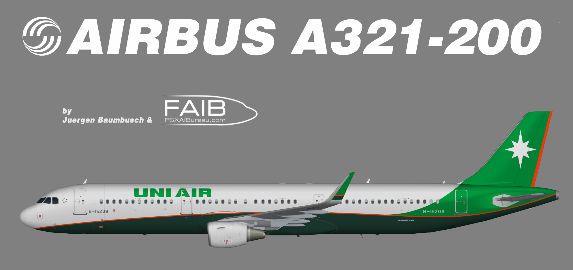 UNI Air Airbus A321-200SL
