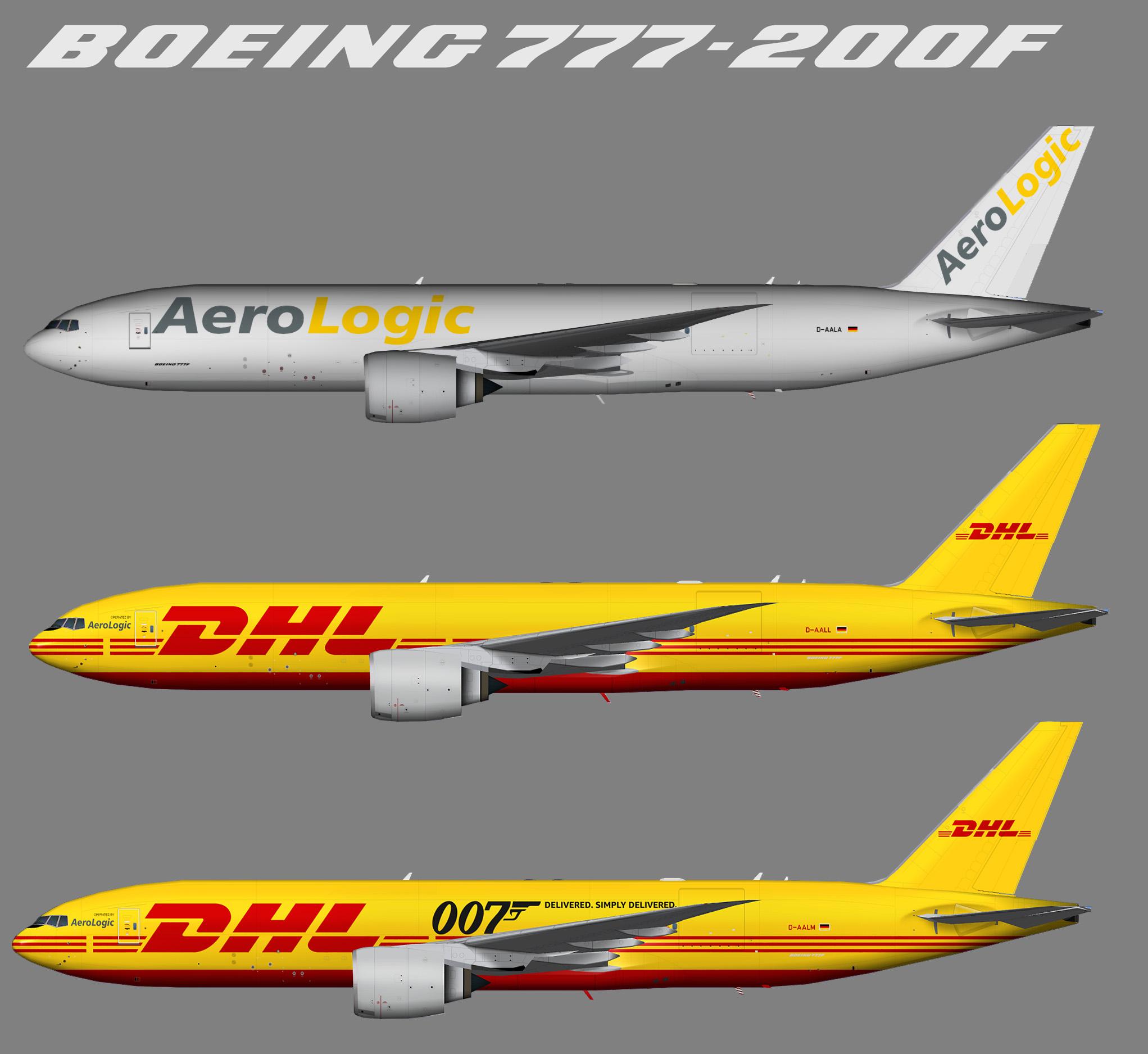 TFS Aerologic Boeing 777F