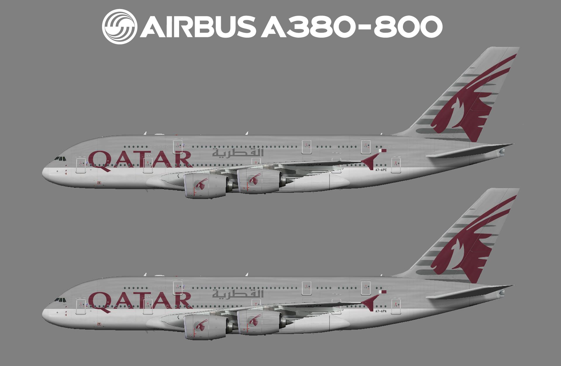 Qatar Airways Airbus A380-800