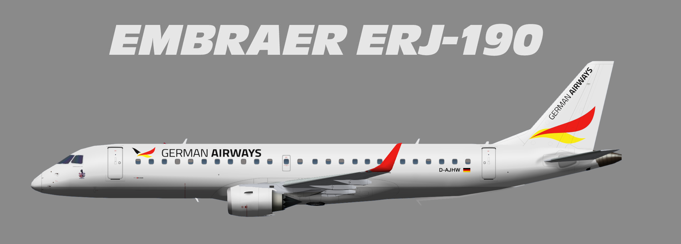 German Airways Embraer ERJ-190
