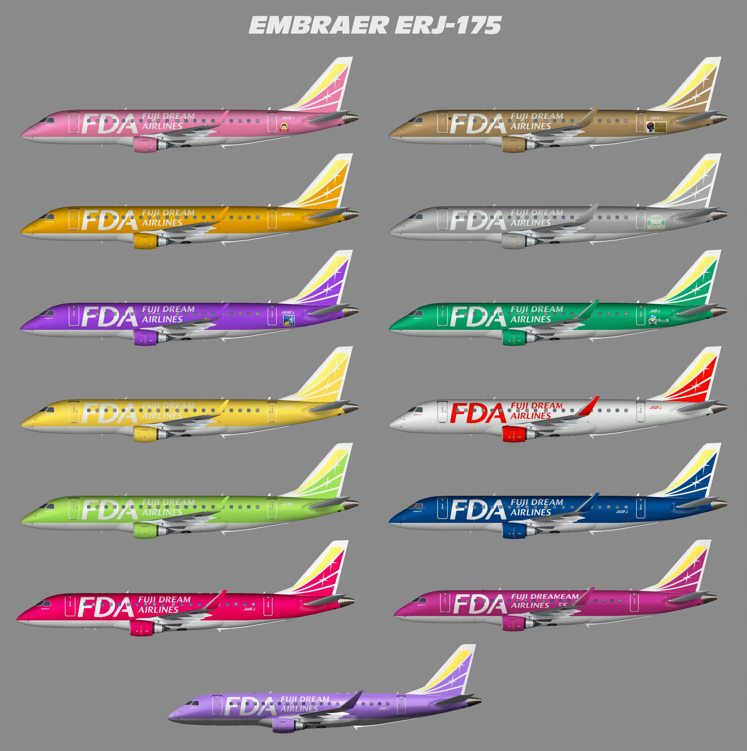 Embraer  ERJ-175 Fuji Dream Airlines