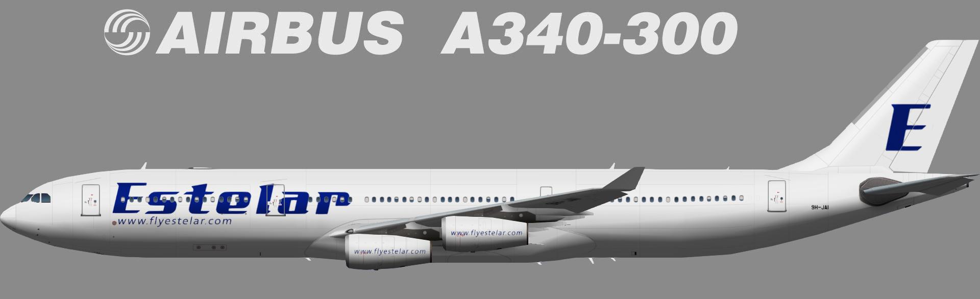TFS HiFly Malta (opf Aerolineas Estelar Latinoamerica) Airbus A340-300