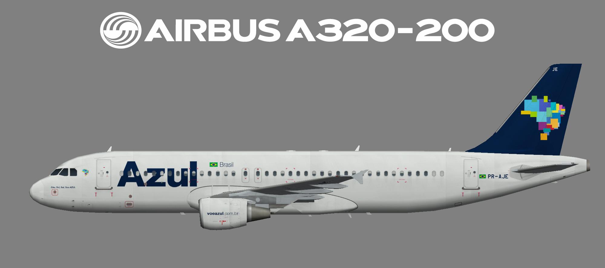 AZUL Airbus A320-200