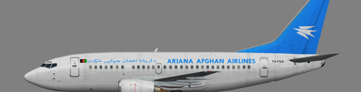 Ariana Afghan Airlines 737-500