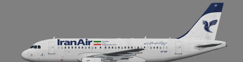 Iran Air A319-100