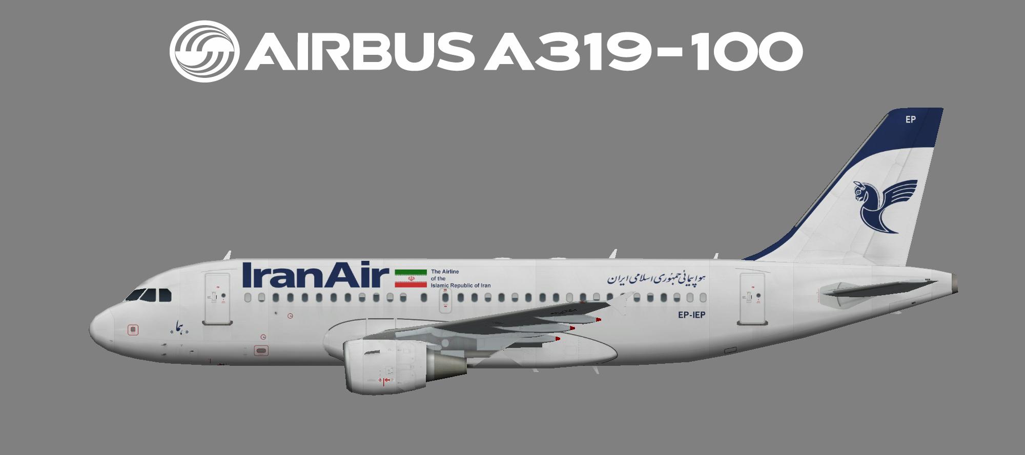Iran Air Airbus A319-100
