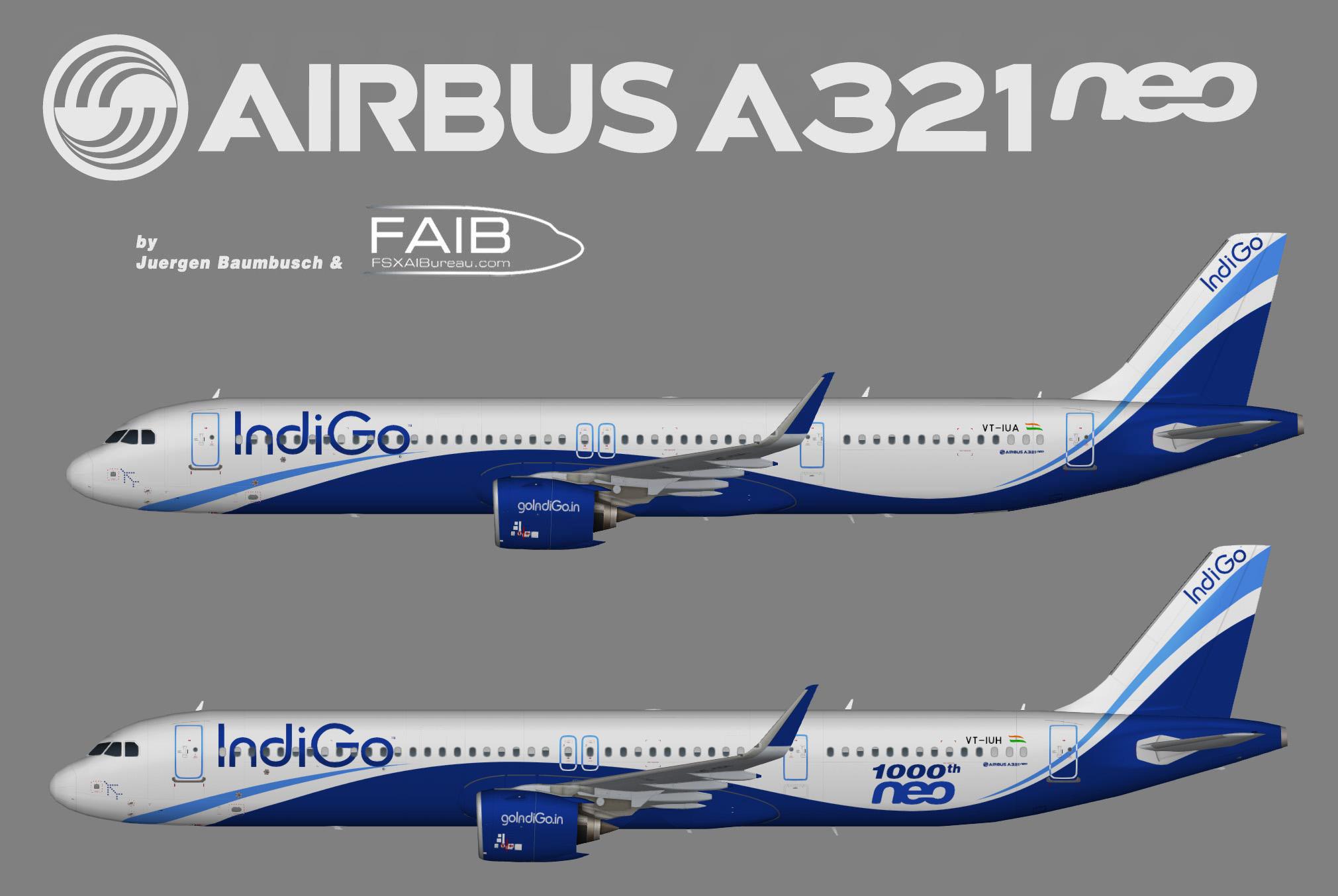 IndiGo Airbus A321NEO ACF