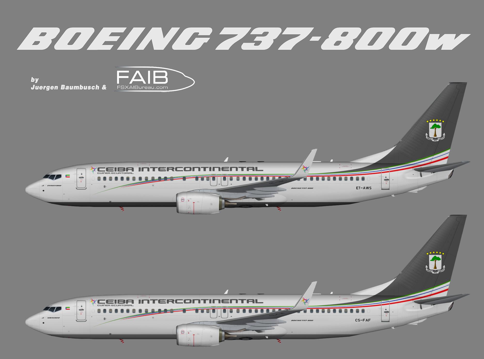 Ceiba Intercontinental Boeing 737-800