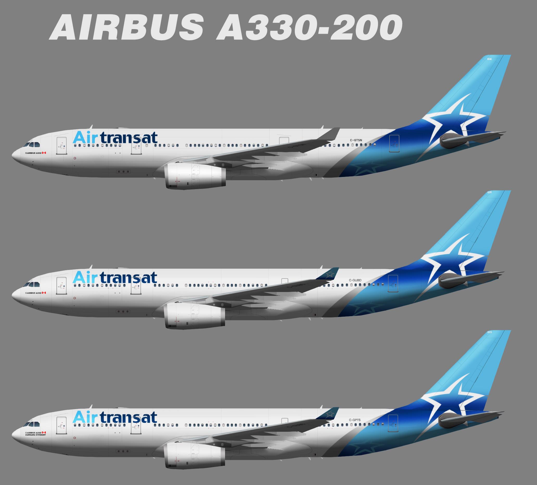 TFS AirTransat Airbus A330-200