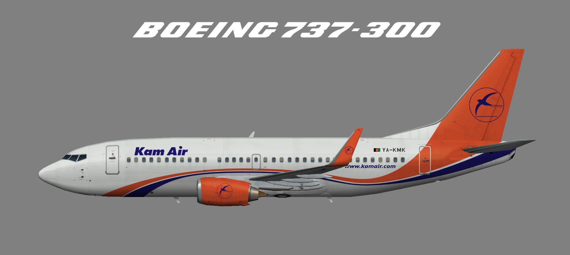 Kam Air Boeing 737-300