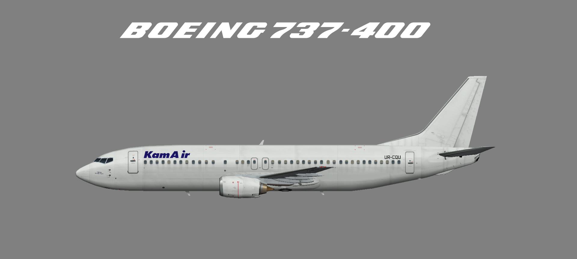 Kam Air Boeing 737-400