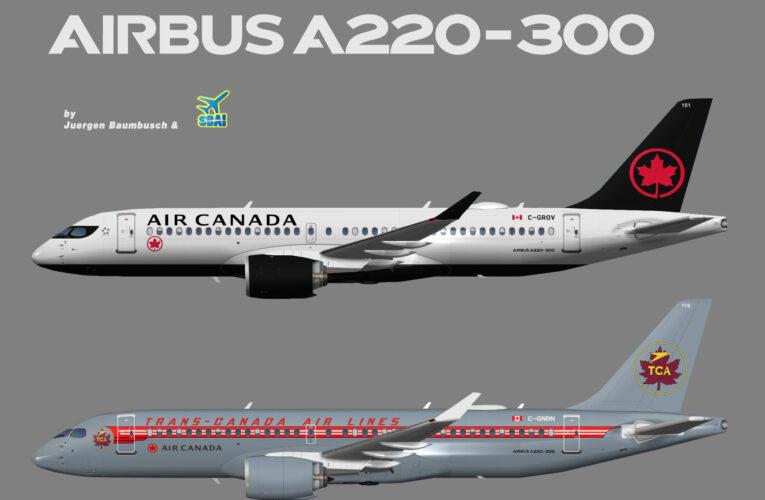 SBAI Air Canada Airbus A220-300