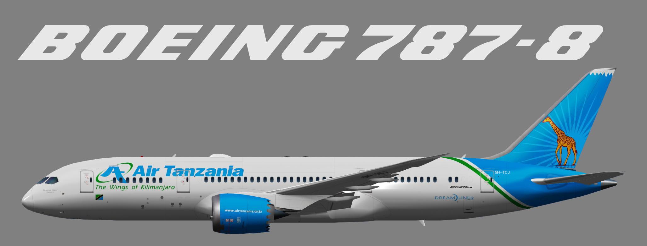UTT Air Tanzania Boeing 787-8