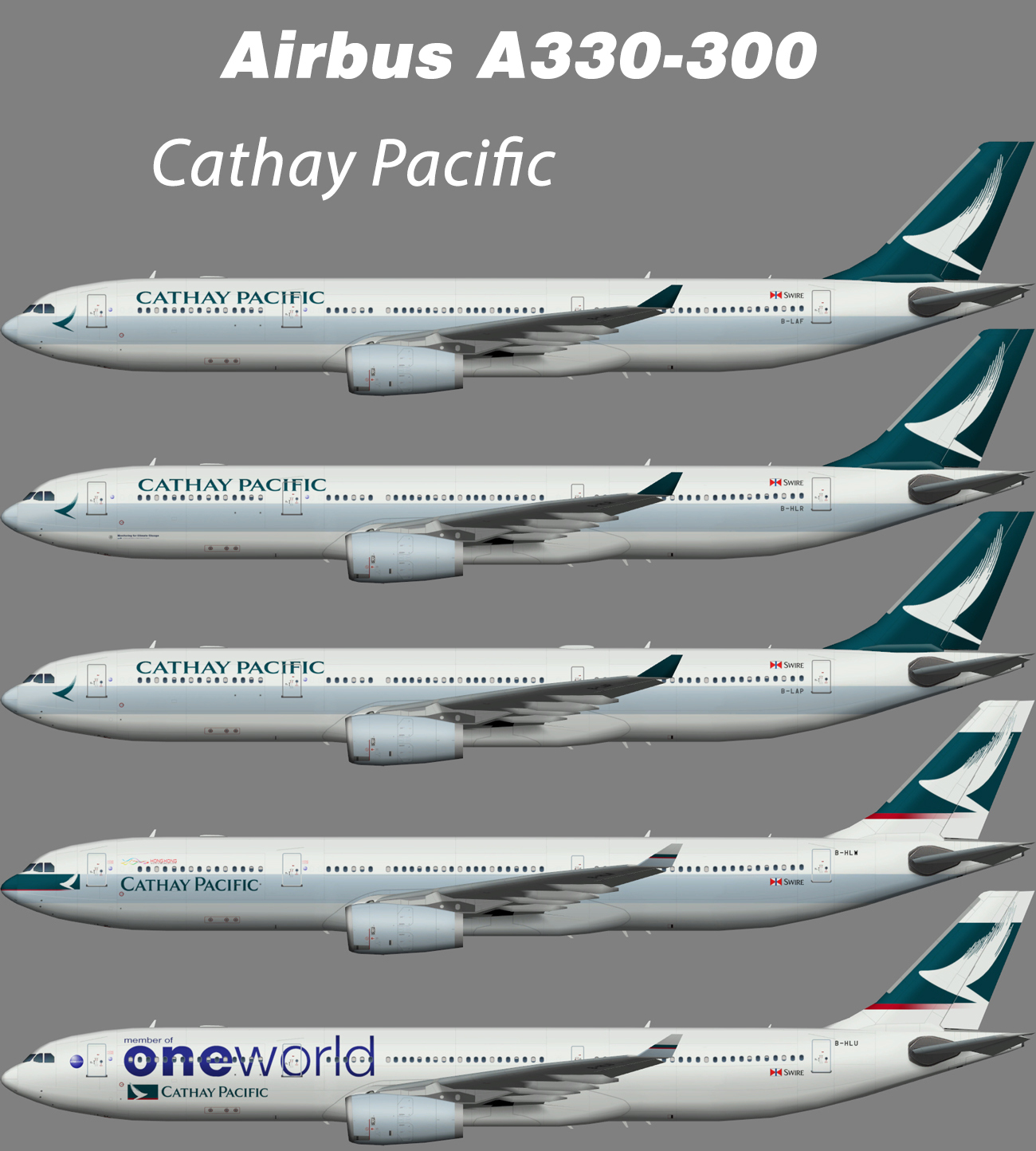 Cathay Pacific Airbus A330-300 – Nils