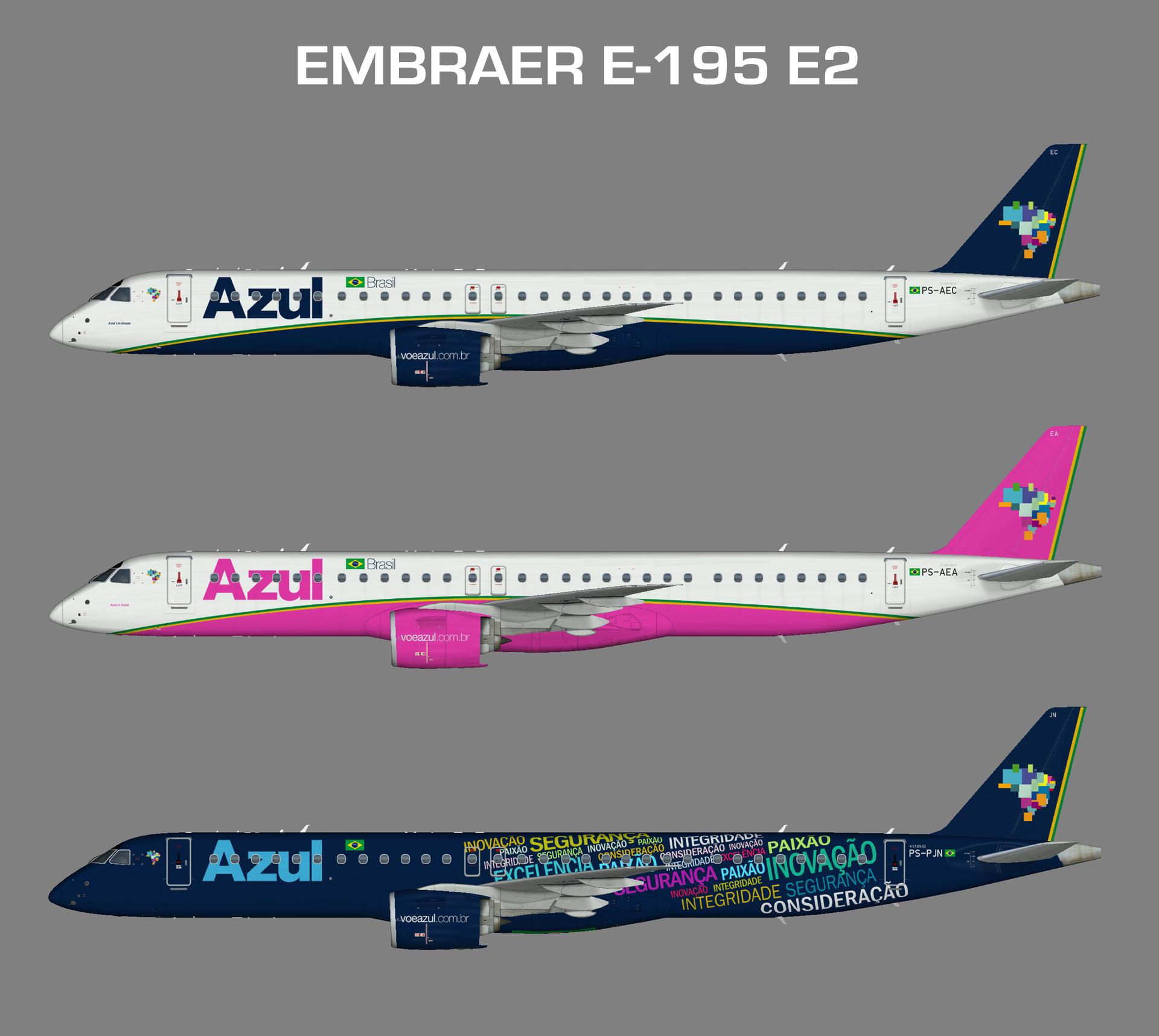 FSP Embraer E195-E2 AZUL