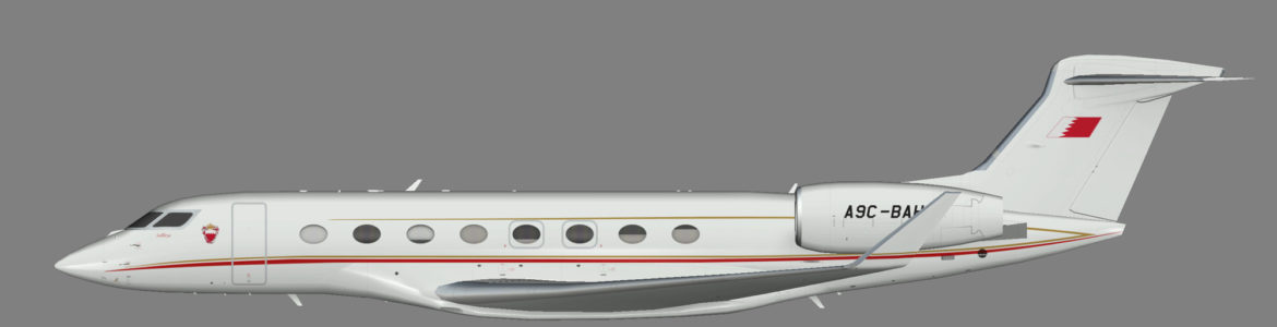 Bahrain Royal Flight G650