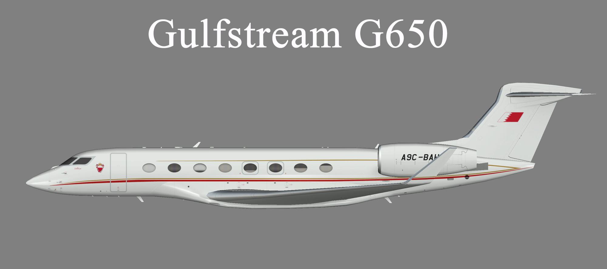 Bahrain Royal Flight Gulfstream G650