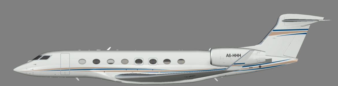 Dubai Air Wing G650