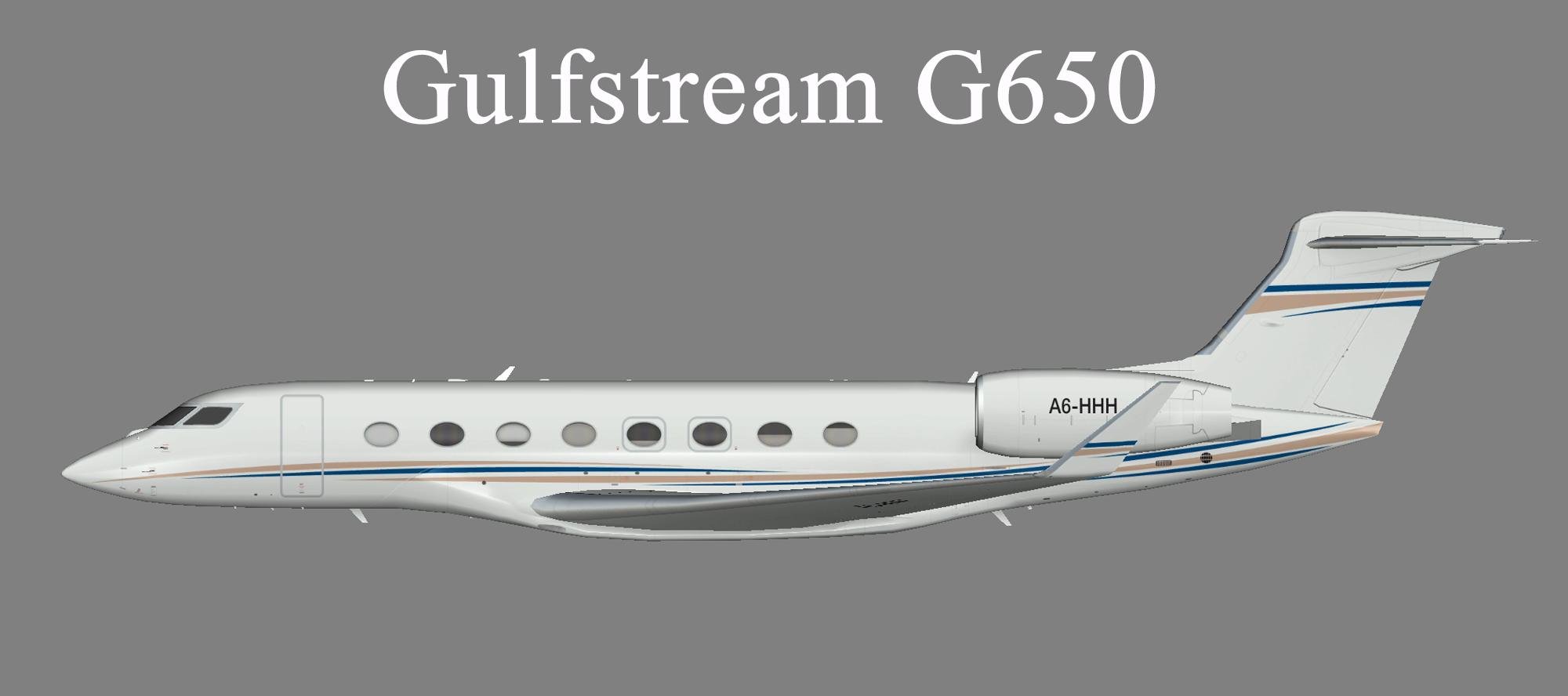 Dubai Air Wing Gulfstream G650